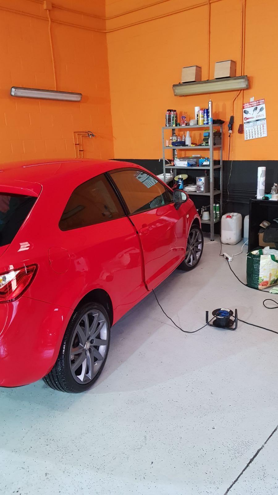 Limpieza de integral de vehículos en Madrid