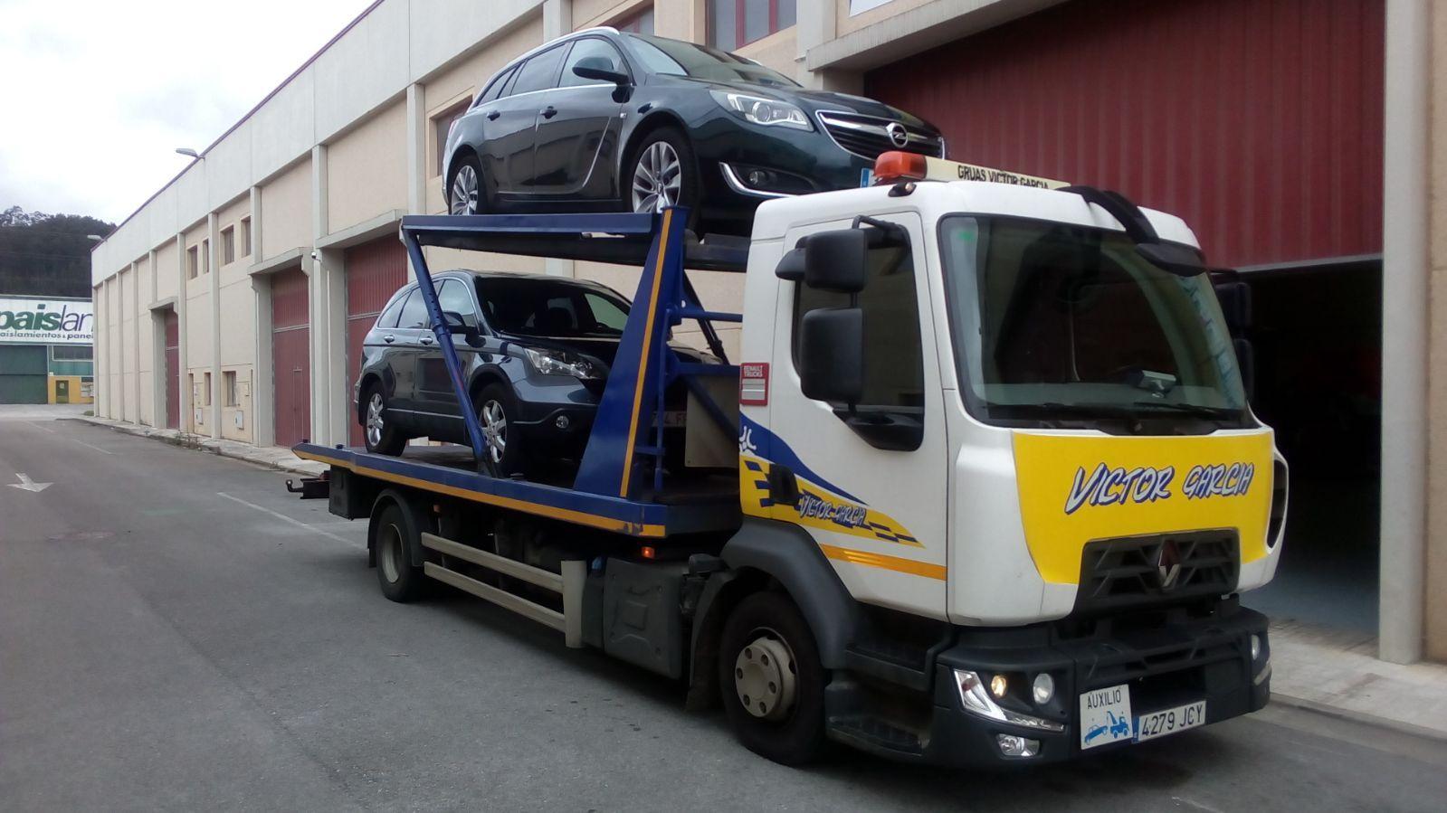 Transporte de vehículos en Cantabria