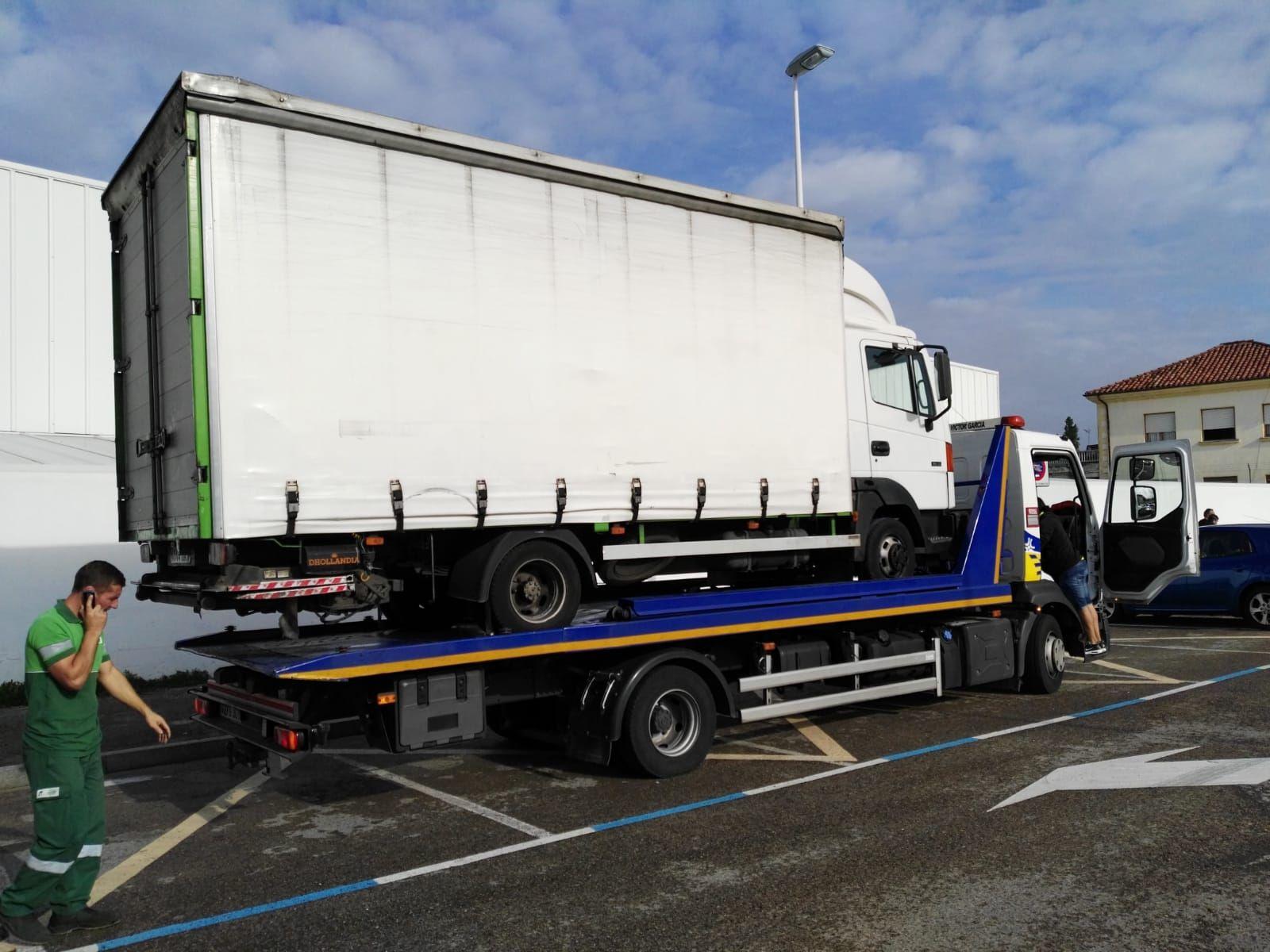 Transporte de camiones