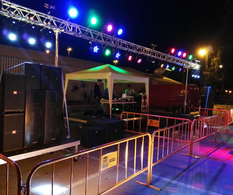 Discoteca móvil en Valencia