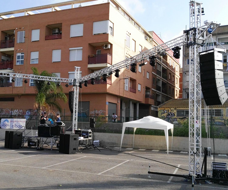 Alquiler de equipos de sonido en Valencia