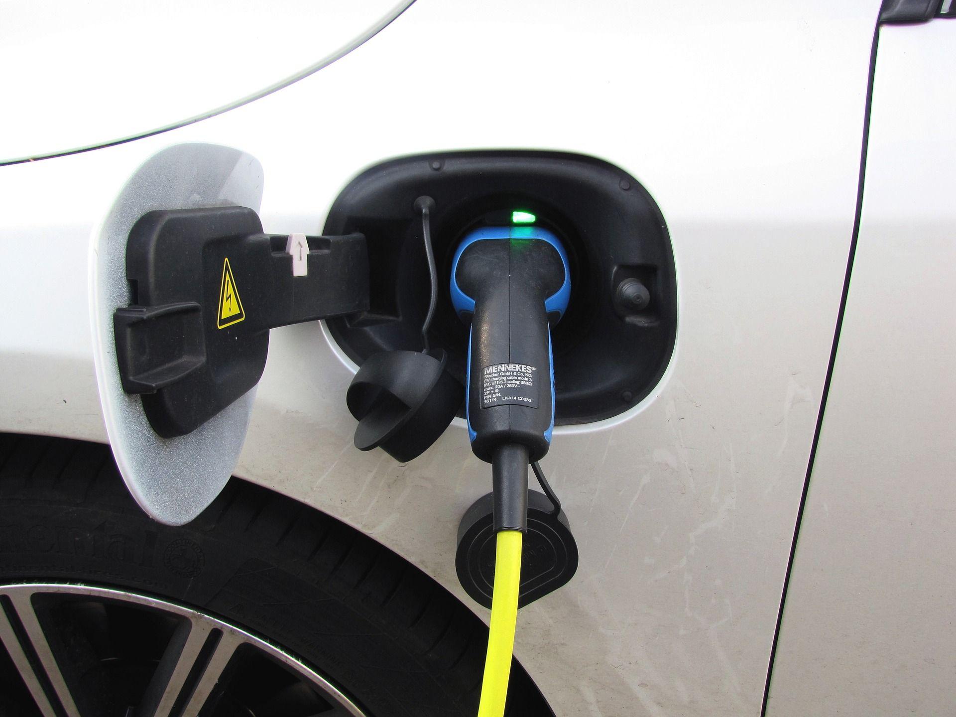 Puntos de recarga para vehículos eléctricos