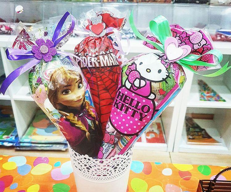 Bolsas de chuches para cumpleaños en Lanzarote