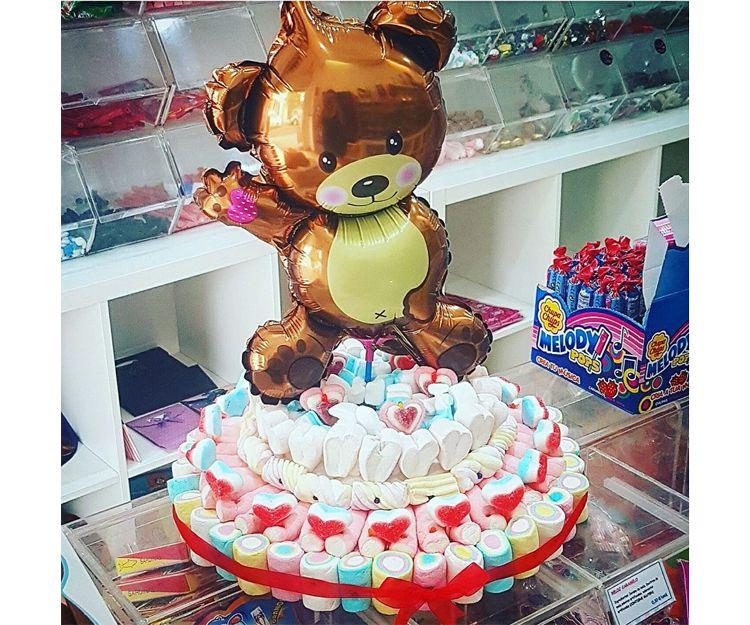 Tarta de chuches para cumpleaños en Lanzarote