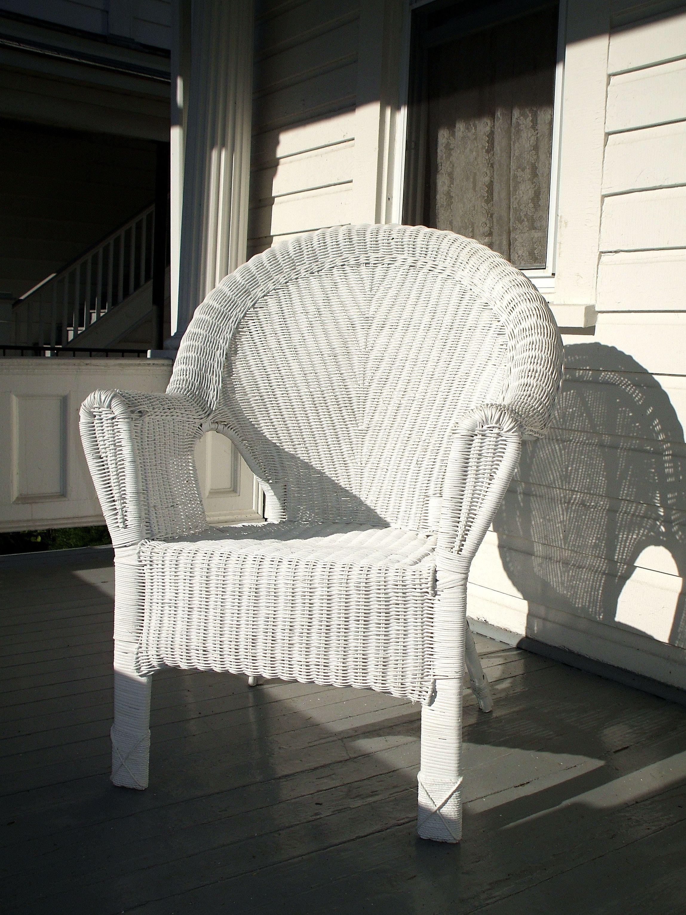 Reparación de muebles de mimbre y caña