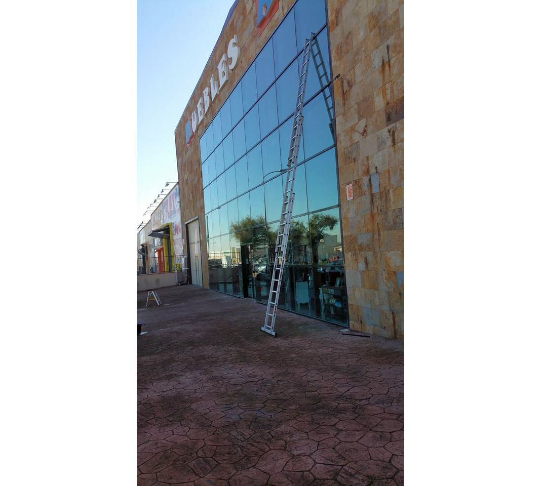 Limpieza de cristales en Madrid sur