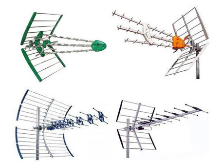 Instalación de todo tipo de antenas