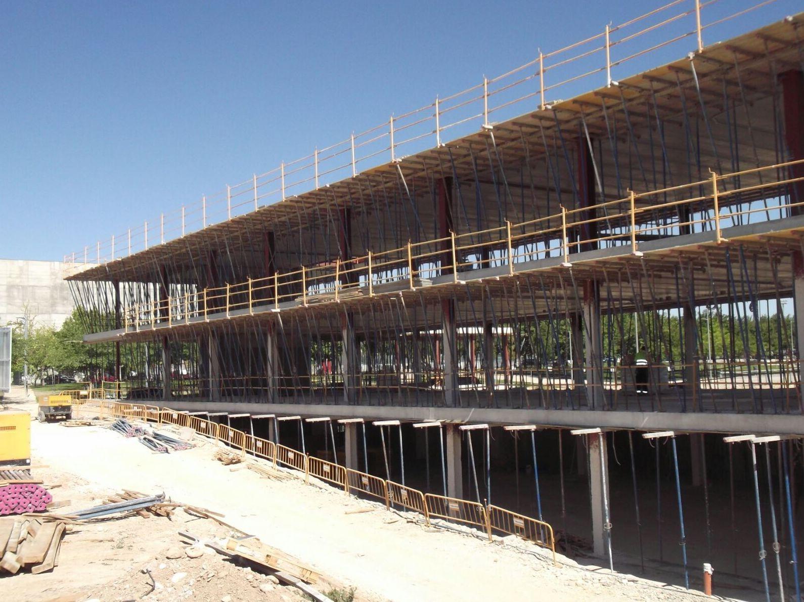 Construcción Universidad San Jorge de Zaragoza