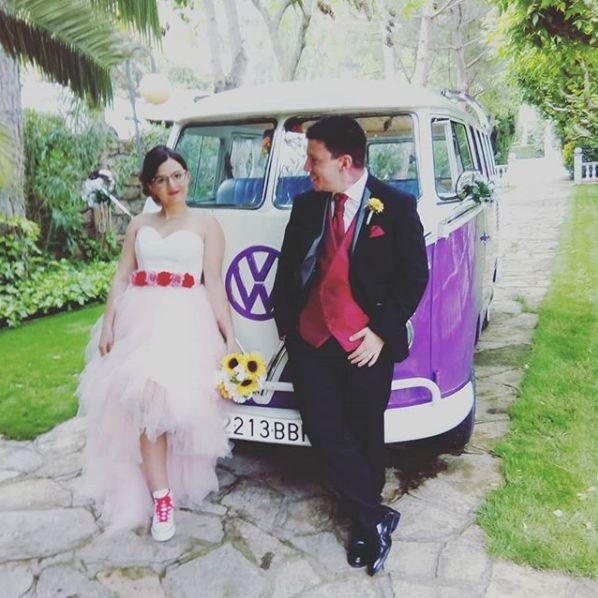 Alquiler de Volkswagen T1 para eventos