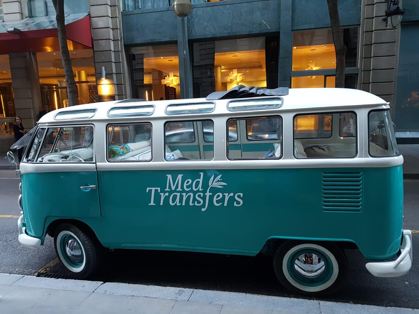 Alquiler de furgoneta Wolkswagen T1 para eventos: Servicios de Alquiler de Vehículos Clásicos