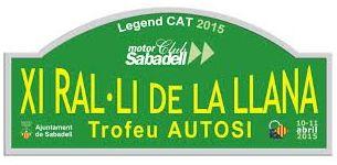 Ral-li Classics La LLana 2016 · Sabadell, Barcelona · 8 y 9 de Abril