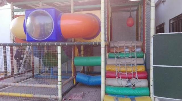 Reparación de parques de bolas ANTES