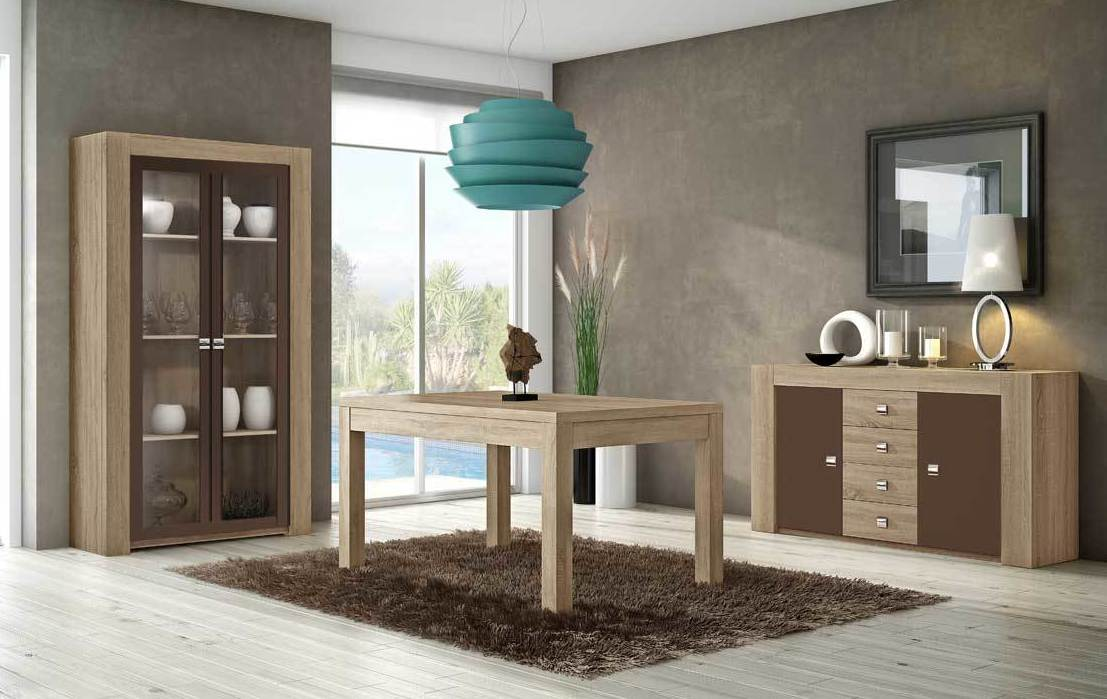 6811 salon moderno barato madrid WWW.MUEBLESSANFRANCISCO.ES