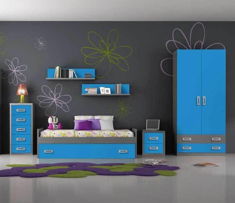 6397 dormitorio juvenil barato madrid WWW.MUEBLESSANFRANCISCO.ES