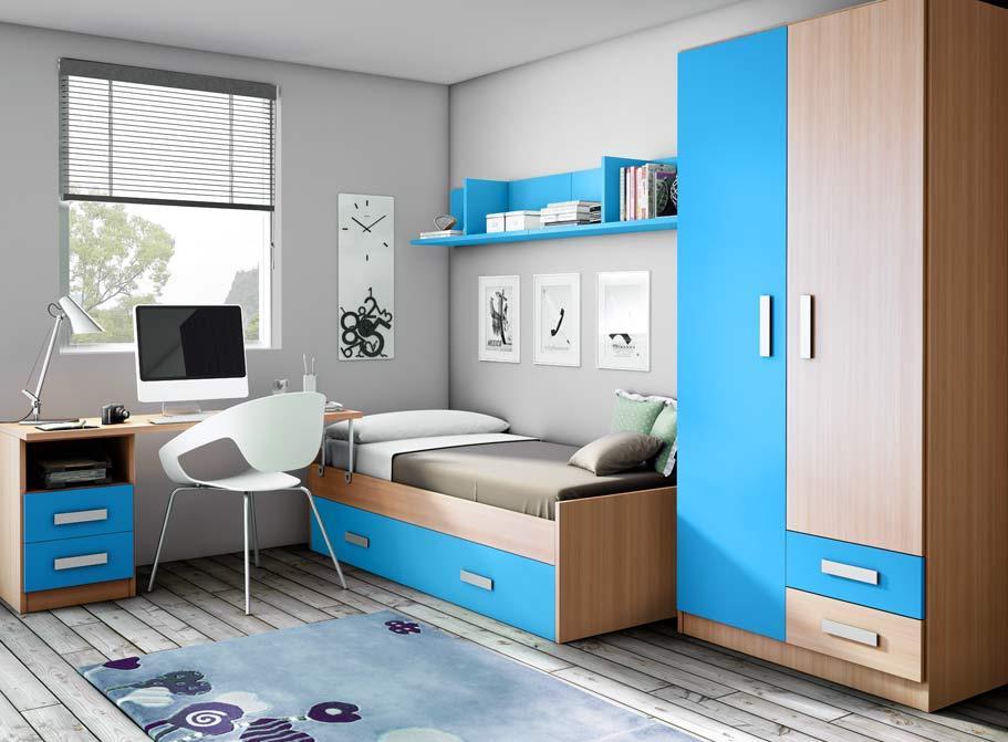 5208 dormitorio juvenil catalogo de muebles san francisco - Muebles san francisco ...