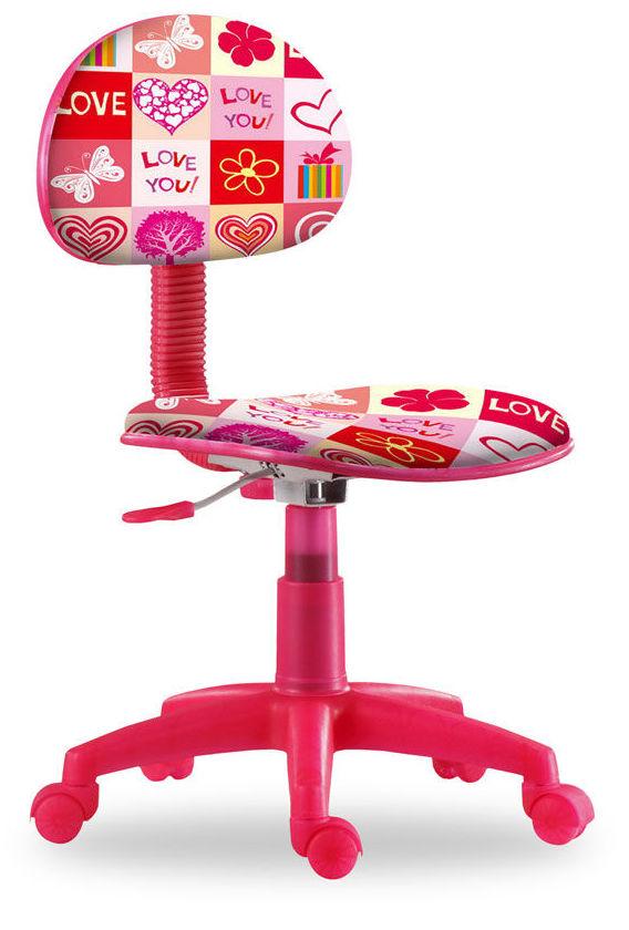 4678 silla de estudio barata para niño. diseño love  solo 39,90€