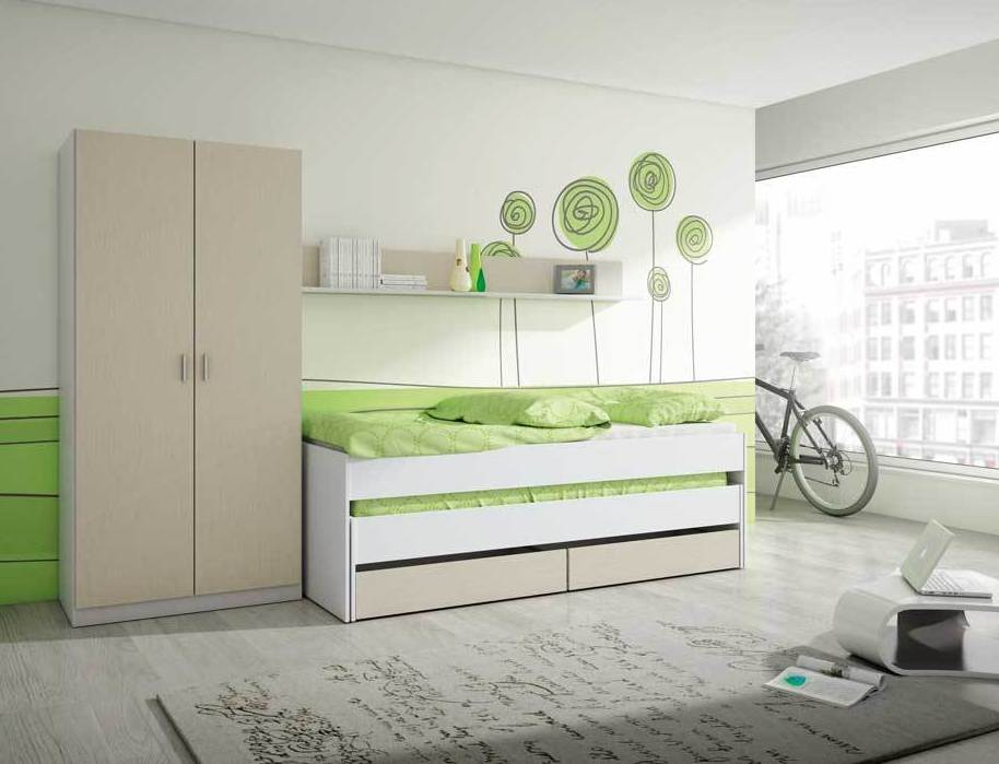 6731 dormitorio juvenil barato WWW.MUEBLESSANFRANCISCO.ES
