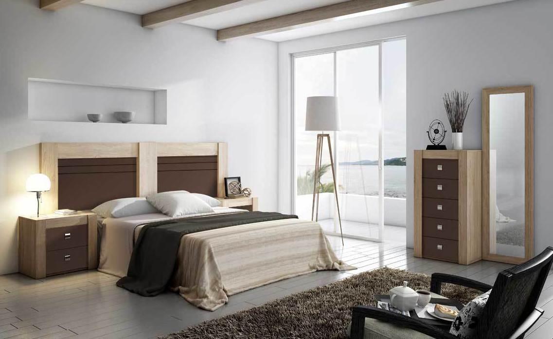 6814 dormitorio de matrimonio moderno barato madrid WWW.MUEBLESSANFRANCISCO.ES