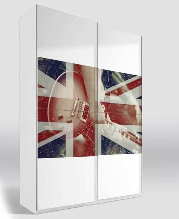 6657 armario puerta corredera moderno y barato WWW.MUEBLESSANFRANCISCO.ES