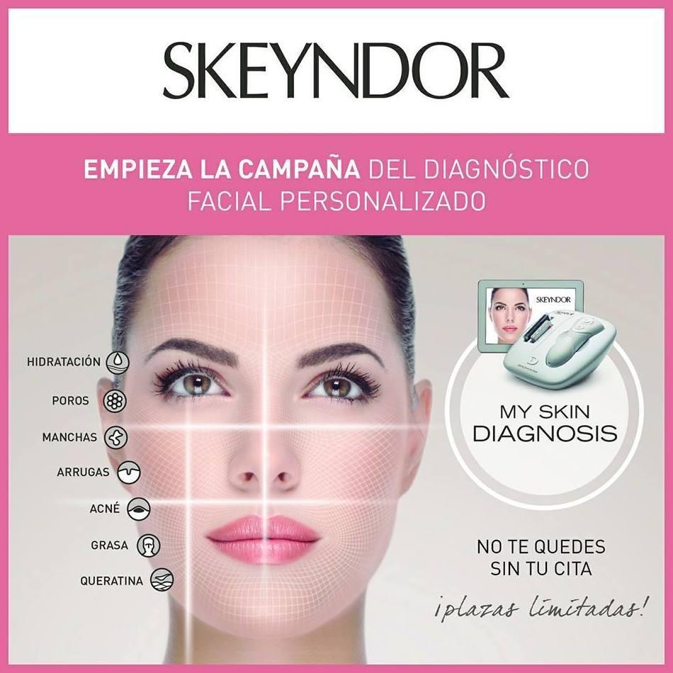 Diagnóstico facial personalizado Skeyndor