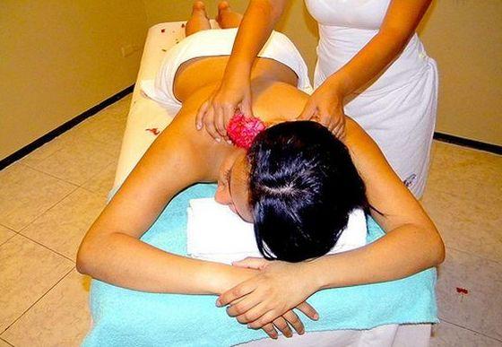 Masajes antiestrés: Tratamientos de Estética Taris