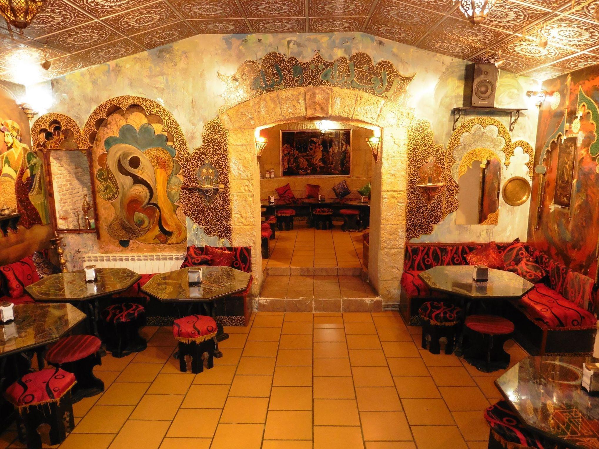 Restaurante árabe en el centro de Madrid
