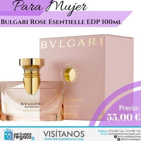 """Rose Essentielle de Bvlgari es un """"Eau de Parfum"""""""