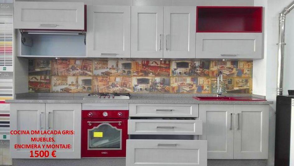 Liquidaci n cocinas de exposici n for Liquidacion de muebles de cocina de exposicion