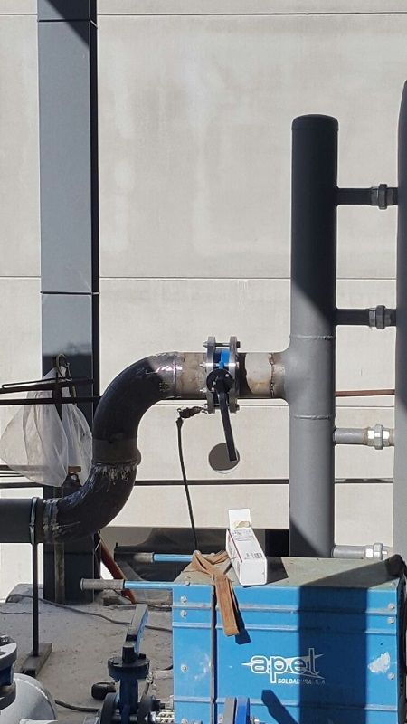 Trabajos de fontanería industrial en Valencia