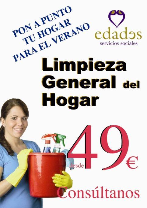 Limpieza General del Hogar - Edades Servicios Sociales