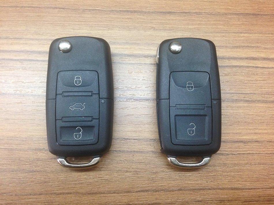 Duplicados y reparación de llaves con mando de vehículos.
