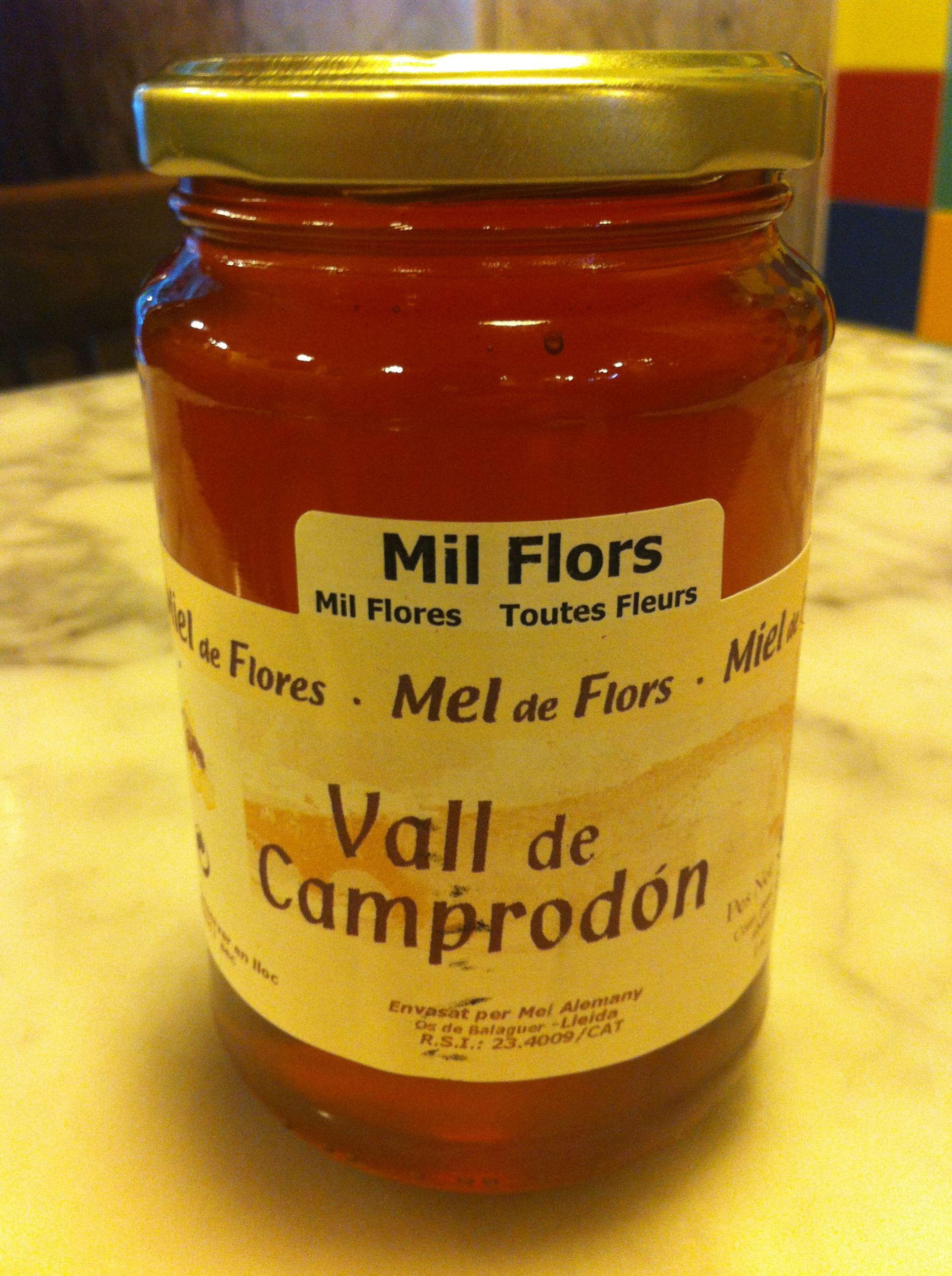 Tarro de miel en Barcelona