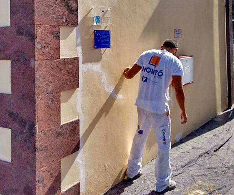 Rehabilitación de fachadas en La Gomera