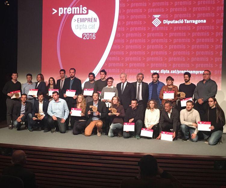 Grupo de ganadores