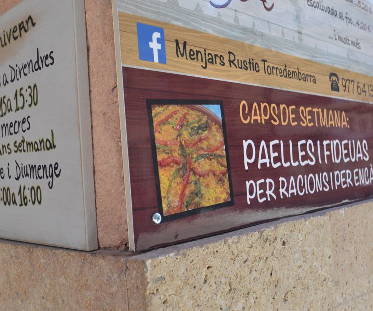 Paellas para llevar en Torredembarra