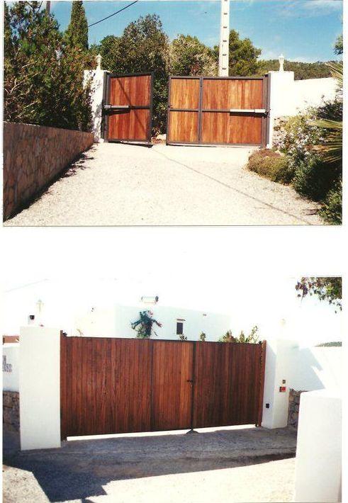 Puertas de garaje automática Ibiza|Automatismos y pvc Santa Eulalia