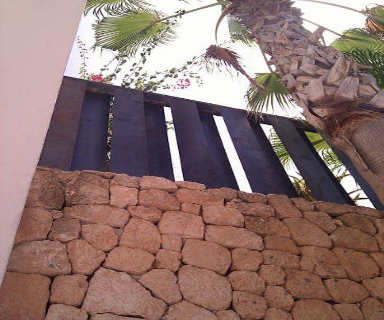 Trabajos de carpintería metálica en Ibiza