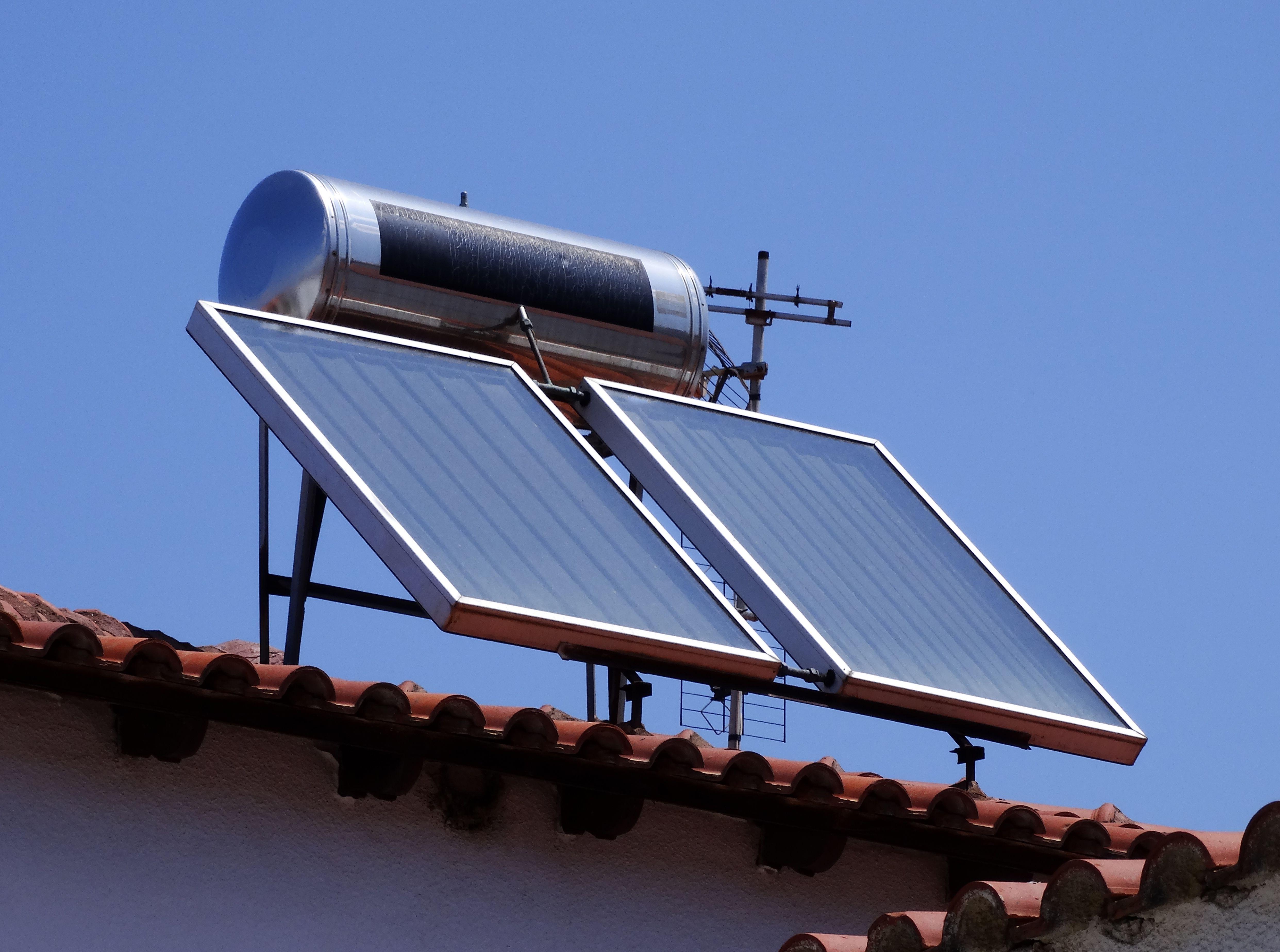 Energía solar térmica: Servicios de Fontanería Fernando