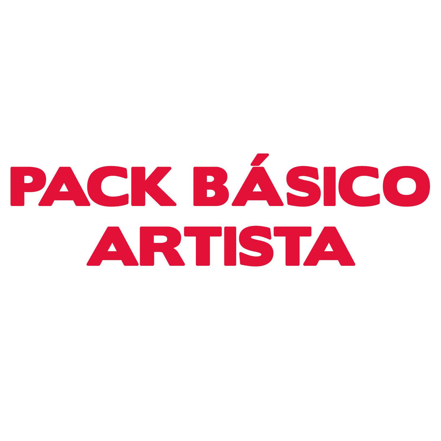 Pack básico artista: Servicios of Cultus