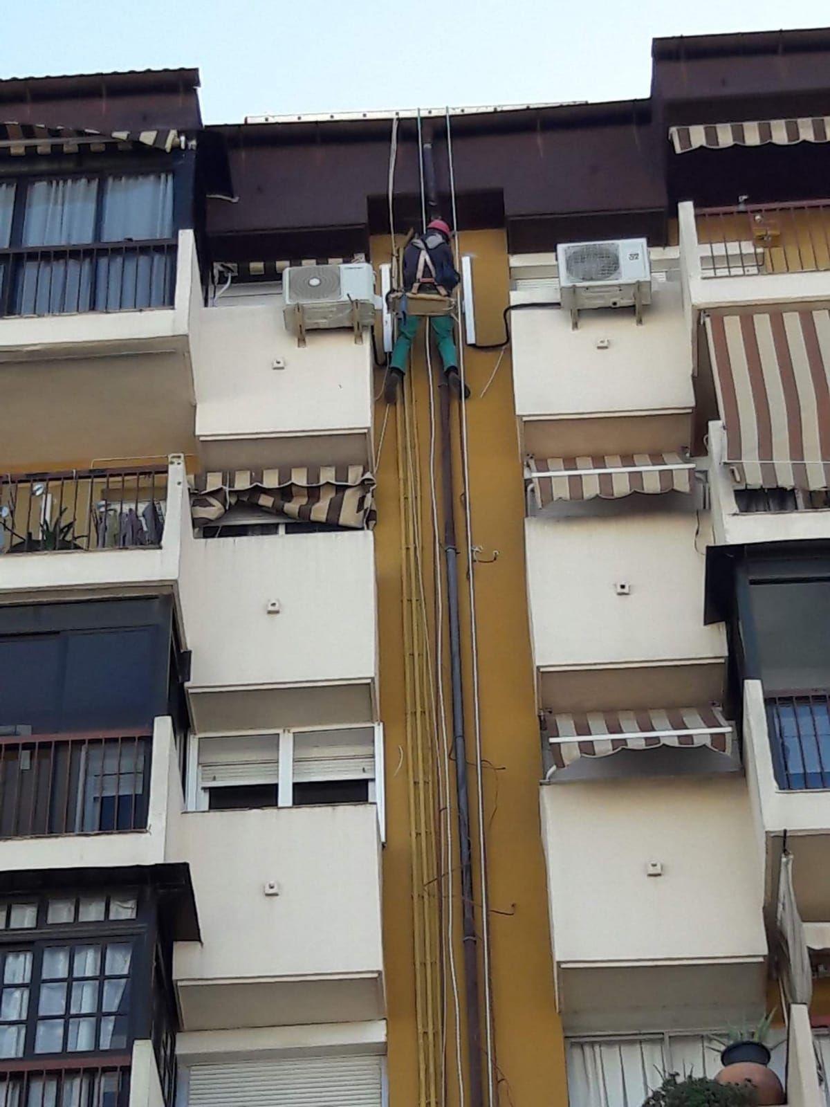 Trabajos en altura Sevilla