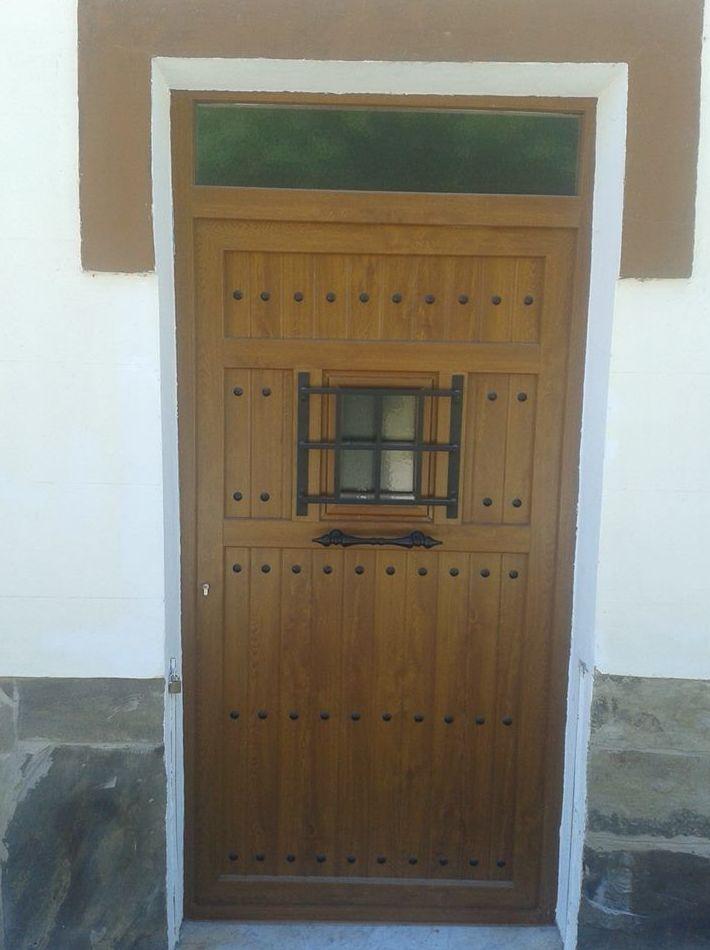 Puertas decorativas: Servicios de Lenalur, C.B.