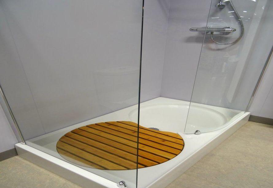 mamparas de baño pola de lena