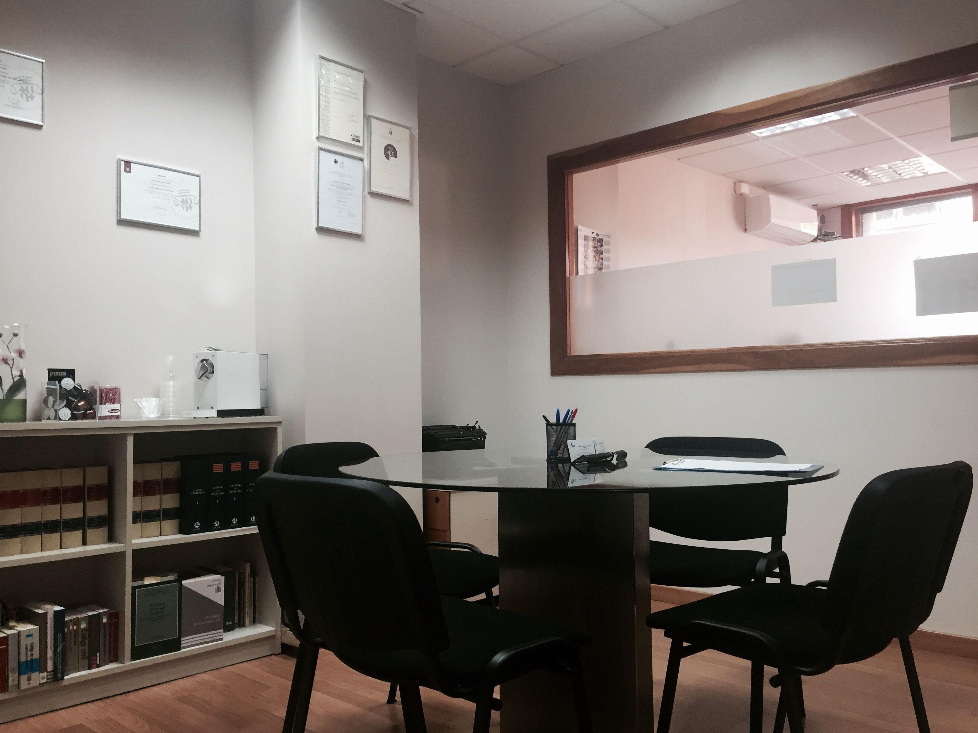 Despacho de abogados en Sant Cugat del Válles