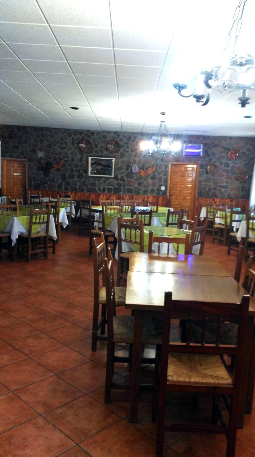 Restaurante del Alojamiento Rutal Alto Tajo