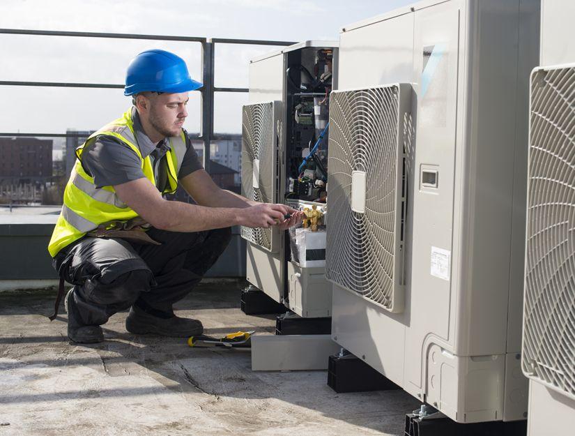 Instalación y mantenimiento de aire acondicionado en Málaga