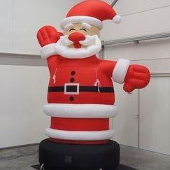 Papa Noel 4 metros
