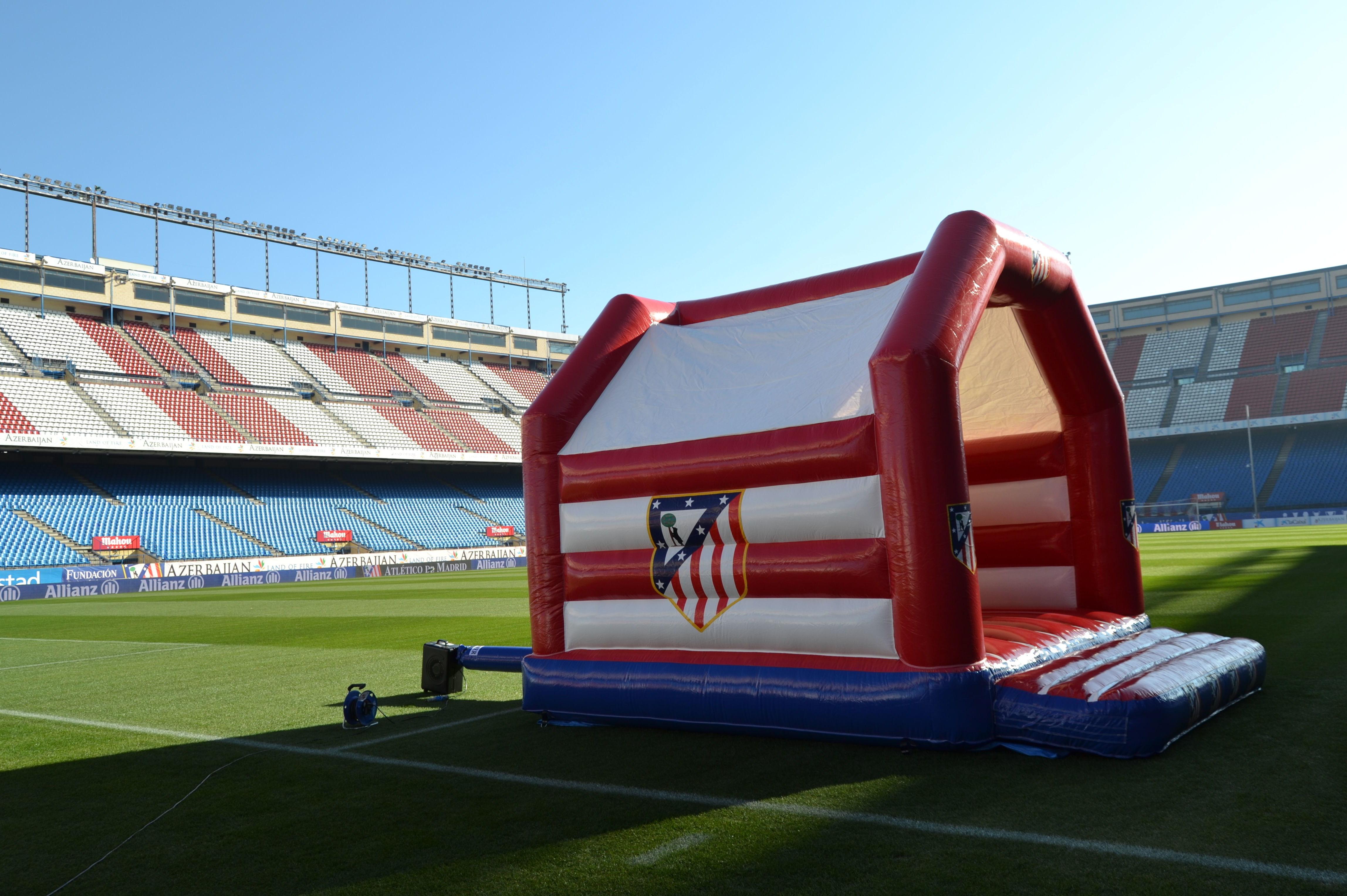 Castillo personalizado Atlético de Madrid