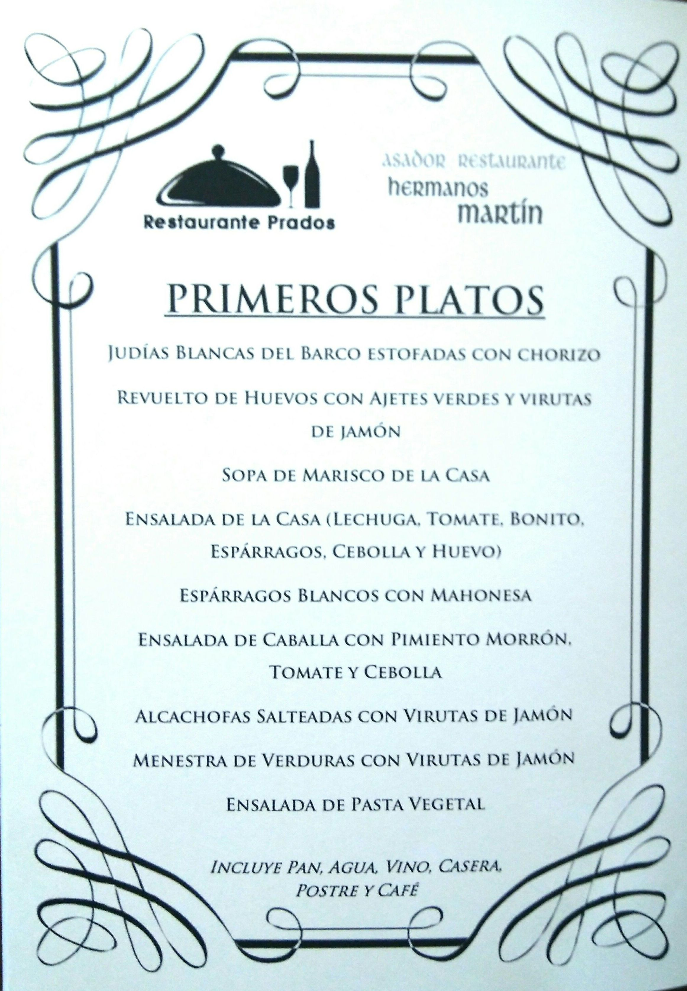 Menú del día por 10€: Restaurante de Asador Rte Hermanos Martín