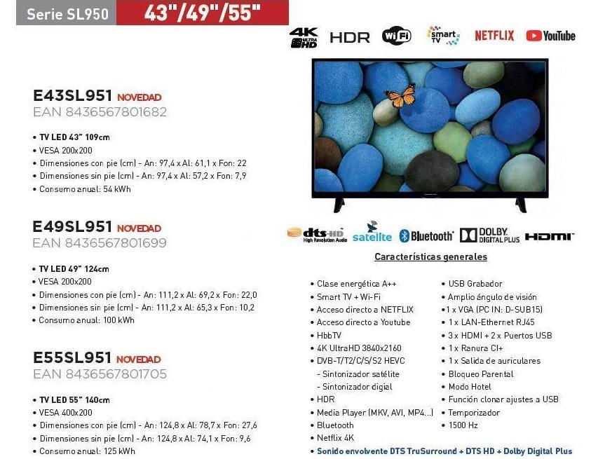 "TV LED 43"" 49"" 55"": Servicios de Perfect Clima Castellón, S.L."