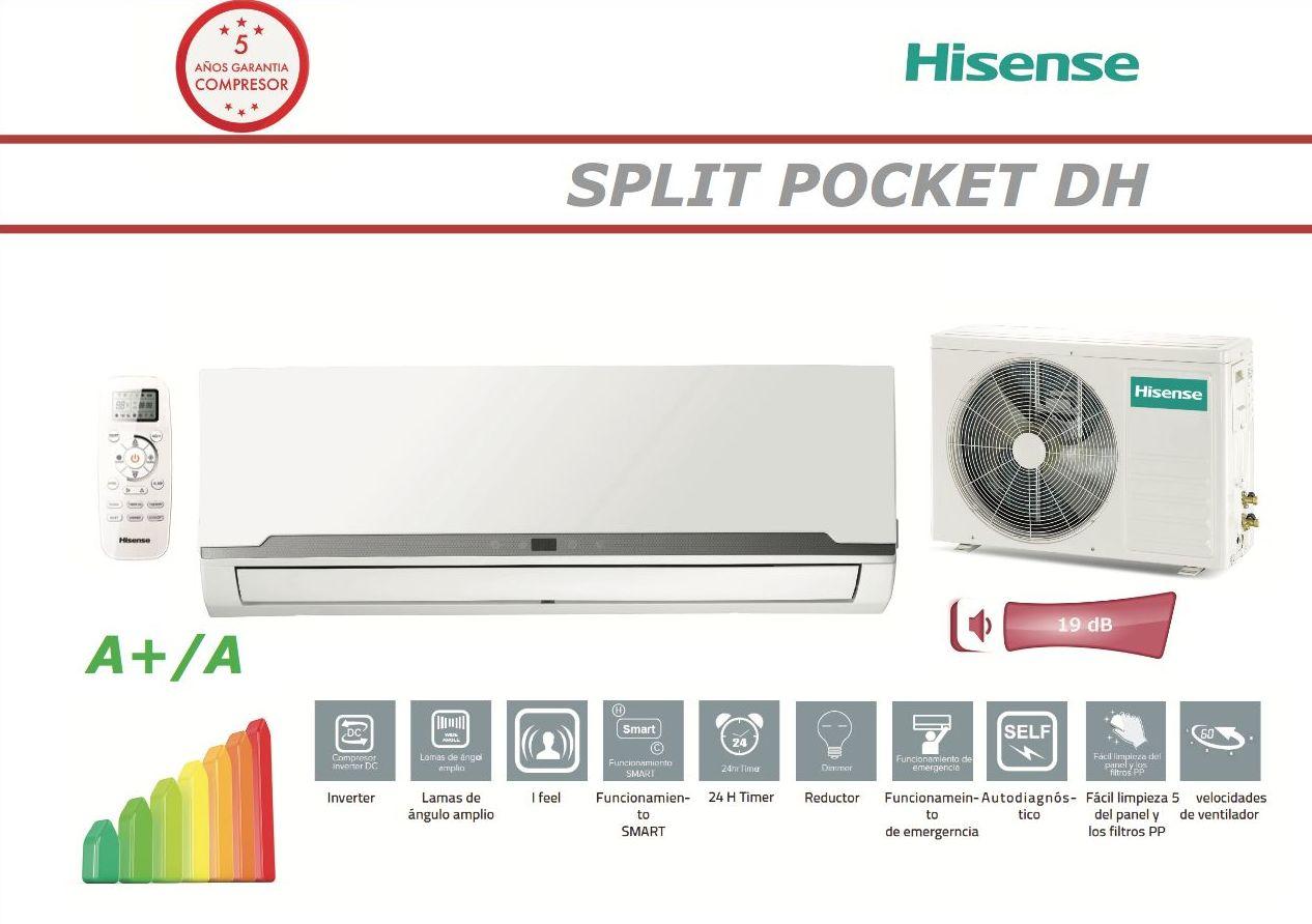 Hisense Pocket DH12: Servicios de Perfect Clima Castellón, S.L.